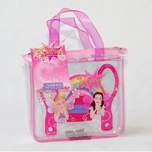 Glitter Brush & Mirror Bag