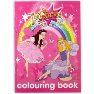 The Fairies Colouring In Book